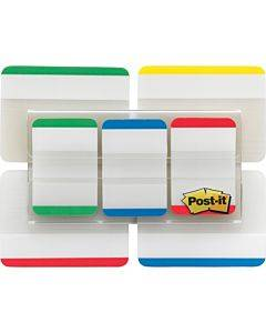 Post-it® Tabs Value Pack - Primary Bar Colors