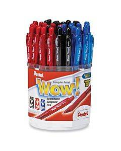 Pentel Wow! Retractable Ballpoint Pen Display