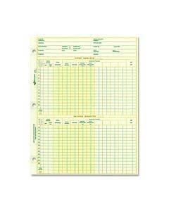 Rediform National Payroll Filler Sheets