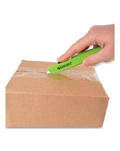"Safety Ceramic Blade Box Cutter, 6.15"", Green"