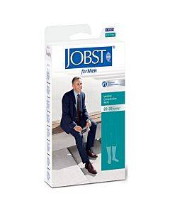 Men's Knee-high Ribbed Compression Socks Medium, Khaki Part No. 115101 (1/ea)