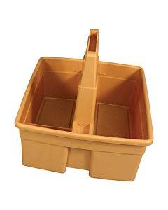 Maids' Basket, 4 Pockets, 11w X 10h, Tan
