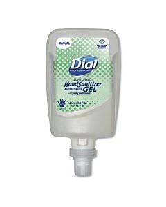 Antibacterial Gel Hand Sanitizer Refill For Fit Manual Dispenser, Fragrance Free, 1.2 L, 3/carton
