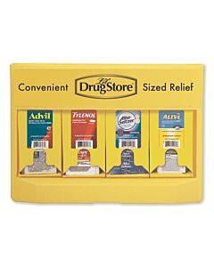 Single-dose Medicine Dispenser, 105-pieces, Plastic Case, Yellow