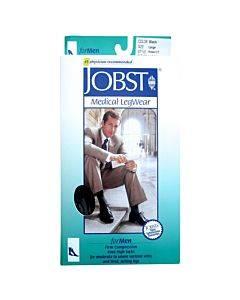 Jobst For Men Thigh High Large, Black, 20-30 Mm Hg Part No. 115410 (1/ea)