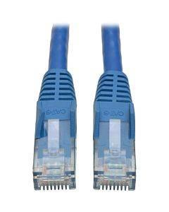 Tripp Lite 7ft Cat6 Gigabit Snagless Molded Patch Cable Rj45 M/m Blue 7'