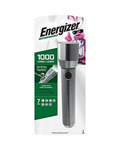 Energizer Vision Hd Rechargeable Led Metal Flashlight (includes Usb Cable For Recharging)