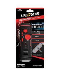 Life+gear Stormproof Crank Light