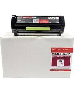 Micromicr Micr Toner Cartridge - Alternative For Lexmark 56f1000 - Black