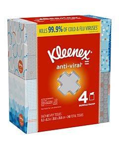 Kimberly-clark Anti-viral Facial Tissues