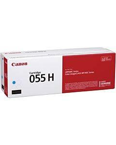 Canon 055h Original Toner Cartridge - Cyan
