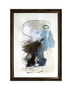 Lorell In The Middle Framed Abstract Art