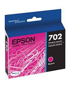 Epson Durabrite Ultra T702 Original Ink Cartridge - Magenta