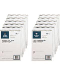 Business Source Wirebound Steno Notebook