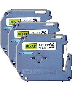 Brother P-touch Nonlaminated M Series Tape Cartridge