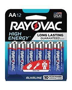 Rayovac High Energy Alkaline Aa Batteries