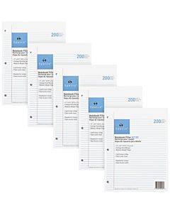 Sparco Notebook Filler Paper - Letter