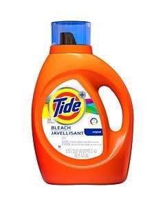 Tide Tide Plus Bleach Laundry Detergent