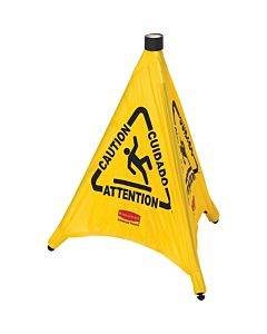 Rubbermaid Commercial Multi-lingual Caution Safety Cone