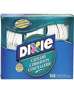 Dixie Heavyweight Disposable Forks, Knives & Spoons Combo Boxes By Gp Pro