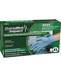 Diversamed 4 Mil Powder Free Exam Gloves