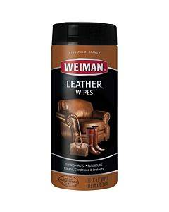 Weiman Products Leather Wipes