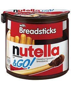 Nutella Nutella & Go Hazelnut Spread & Breadsticks