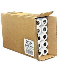 """Direct Thermal Printing Thermal Paper Rolls, 2.25"""" X 55 Ft, White, 50/carton"""
