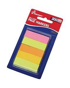 Skilcraft Self-stick Page Markers