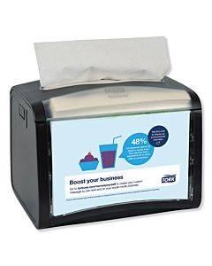 Xpressnap Tabletop Napkin Dispenser, 7.9w X 5.9d X 6.1h, Black