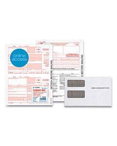5-part 1099-nec Online Tax Kit, 8.5 X 11, 24/pack
