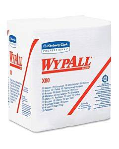 Wypall X80 Folded Wipers