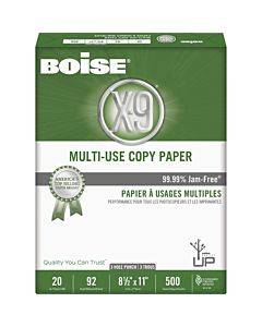 Boise X-9 Multi-use 3-hole Punched Copy Paper