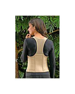 Bsn Medical Fla Ortho Cincher Female Back Support X-small Tan Part No.2000txs
