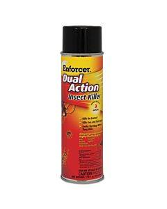 Dual Action Insect Killer, For Flying/crawling Insects, 17oz Aerosol,12/carton