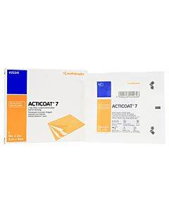 """Acticoat Seven Day Antimicrobial Barrier Dressing 2"""" X 2"""" Part No. 20341 (5/box)"""
