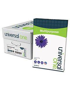 Deluxe Multipurpose Paper, 98 Bright, 20lb, 11 X 17, Bright White, 500 Sheets/ream, 5 Reams/carton