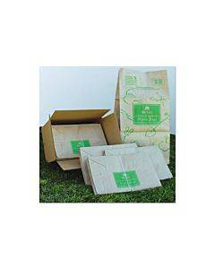 "Lawn And Leaf Bags, 30 Gal, 16"" X 35"", Kraft, 50 Bags"