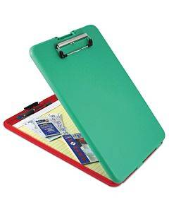 """Slimmate Show2know Safety Organizer, 1/2"""" Clip Cap, 9 X 11 3/4 Sheets, Red/green"""