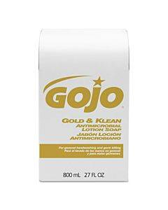 Gold And Klean Lotion Soap Bag-in-box Dispenser Refill, Floral Balsam, 800 Ml