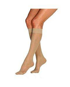 Ultrasheer Supportwear Women's Knee-high Mild Compression Stockings, Large, Silky Beige Part No. 119330 (1/ea)