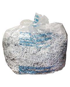 Plastic Shredder Bags, 30 Gal Capacity, 25/box