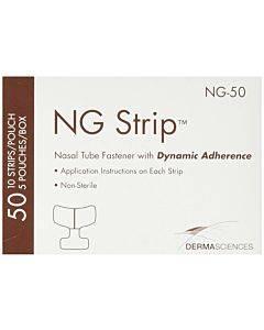 Ng-strip Adult Nasal Tube Fastener Part No. Ng-50 (50/box)