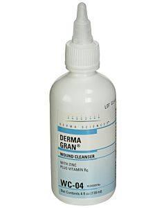 Dermagran Wound Cleanser With Zinc 4 Oz. Bottle Part No. Wc04 (1/ea)