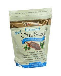 Spectrum Essentials Organic Chia Seed - Ground - 10 Oz