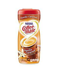 Non-dairy Powdered Creamer, Vanilla Caramel, 15 Oz Canister
