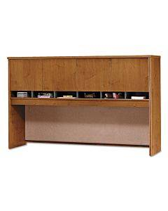 Series C Collection 4 Door 72w Hutch, Box 2 Of 2, Natural Cherry