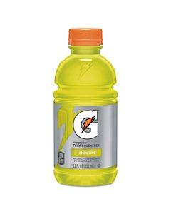 G-series Perform 02 Thirst Quencher, Lemon-lime, 12 Oz Bottle, 24/carton