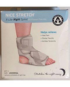 Nice Stretch X-lite Night Splint, Universal Part No. 50320 (1/ea)