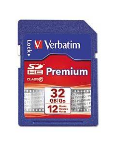 32gb Premium Sdhc Memory Card, Ush-1 V1- U1 Class 10